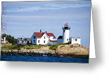 Eastern Point Lighthouse Greeting Card