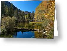 Eastern Sierras 13 Greeting Card