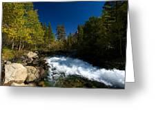 Eastern Sierras 14 Greeting Card