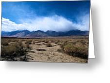 Eastern Sierras 3 Greeting Card