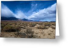 Eastern Sierras 4 Greeting Card