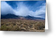 Eastern Sierras 6 Greeting Card