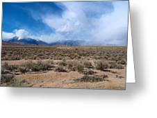 Eastern Sierras 8 Greeting Card