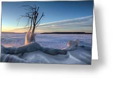Eastern Wind Greeting Card