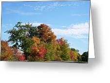 Eastman Lake Trail Greeting Card