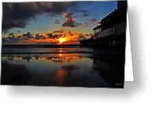 Eat At Joes - Daytona - Florida Greeting Card