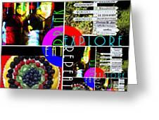 Eat Drink Explore Repeat 20140713 Horizontal Greeting Card