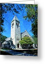 Eaton Chapel Greeting Card