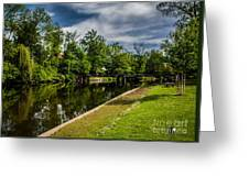 Eaton Rapids Island Park Greeting Card
