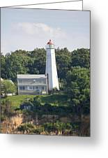 Eatons Neck Lighthouse Greeting Card