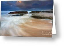 Ebb Tide Sunrise Greeting Card