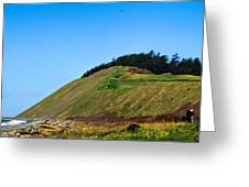 Ebey's Bluff Greeting Card