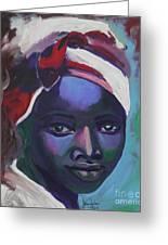 Ebony Women Greeting Card