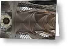 Ecclesiastical Ceiling No. 3 Greeting Card