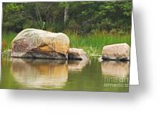 Echo Lake Reflection Greeting Card