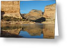 Echo Park In Dinosaur National Monument Greeting Card