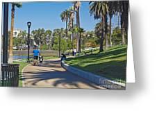 Echo Park Los Angeles Greeting Card