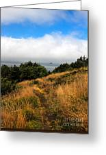Ecola Trails Greeting Card