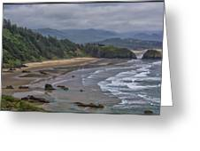 Ecola View Greeting Card