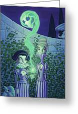 Ectoplasm Greeting Card by Richard Moore