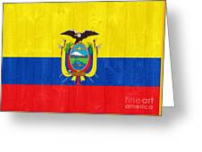 Ecuador Flag Greeting Card