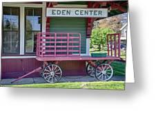 Eden Center Depot 1943 Greeting Card