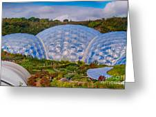 Eden Project Biomes Greeting Card
