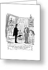 5b19453b9 Edgar Allan Poe Returns A Christmas Gift Metal Print by Edward Frascino