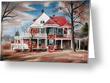 Edgar Home Greeting Card