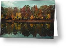 Edge Of Autumn Greeting Card