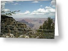 Edge Of Canyon Greeting Card