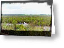 Edge Of Mississippi River Greeting Card