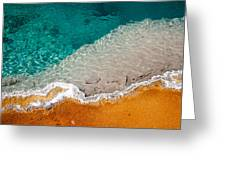 Edge Of The Pool Greeting Card
