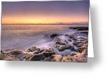 Edge Of The World Greeting Card by Anthony Citro