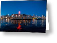 Edgewater The Big Red E Greeting Card