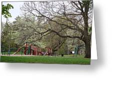 Edgewood Park New Haven Connecticut Greeting Card