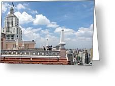 Edificios Altino E Martinelli 2 - Sao Paulo Greeting Card