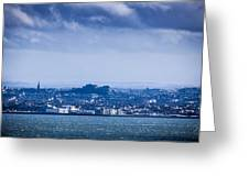 Edinburgh Castl Greeting Card