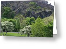 Edinburgh Castle 6493 Greeting Card