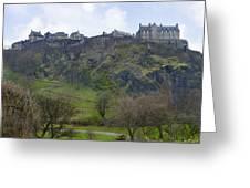 Edinburgh Castle - Scotland  Greeting Card