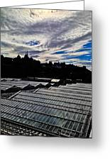 Edinburgh In Silhouette Greeting Card