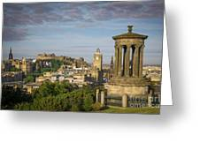 Edinburgh Sunrise Greeting Card