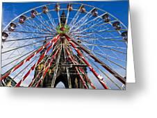 Edinburgh's Christmas Ferris Wheel Greeting Card