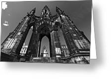 Edinburgh's Scott Monument Greeting Card