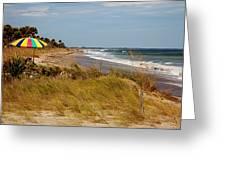 Edisto Beach By Jan Marvin Greeting Card