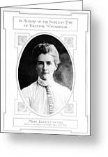 Edith Cavell (1865-1915) Greeting Card