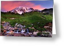Edith Creek Sunrise Greeting Card
