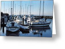 Edmonds Yacht Club Greeting Card