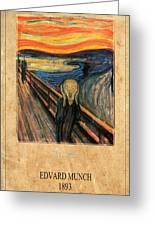 Edvard Munch 1 Greeting Card
