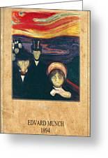 Edvard Munch 2 Greeting Card